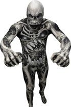 Skelet Morphsuits™ kostuum voor volwassenen - Verkleedkleding - 180 cm