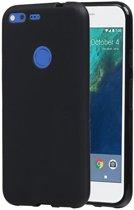 Google Pixel TPU back case hoesje Zwart