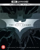 DVD cover van The Dark Knight Trilogy (4K Ultra HD Blu-ray)