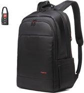 Tigernu Waterproof - laptop rugzak - anti diefstal usb - 12,5 tot 17 inch - zwart