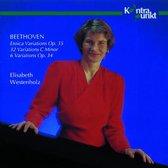 Beethoven: Eroica Variations, etc / Elisabeth Westenholz