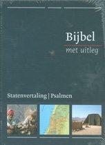 Bijbel met uitleg - blauw - hardcover - middel