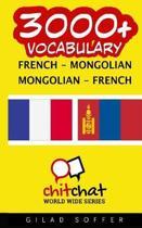 3000+ French - Mongolian Mongolian - French Vocabulary