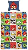 Angry Birds Bad Mood Dekbedovertrek - Eenpersoons - 140x200 cm - Multi