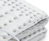 Wellcare Soft Fleece - Elektrische Deken 150x80 cm - éénpersoons licht grijs