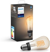 Philips Hue Filament Lamp - White - ST64/E27 - losse lamp - Bluetooth