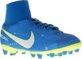 Nike Mercurial Victory VI DF NJR AG-Pro  Voetbalschoenen - Maat 36 - Unisex - blauw/wit/geel