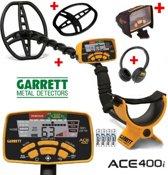 Garrett Ace 400i metaaldetector voordeelpakket