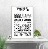 tekstbord  papa