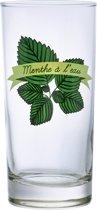 Durobor Menthe Longdrinkglas - 0.29 l - 6 stuks