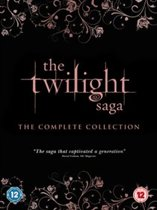 DVD cover van Twilight Saga Complete