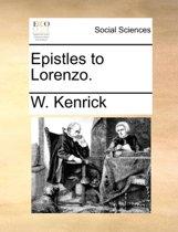 Epistles to Lorenzo
