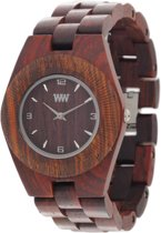 WeWOOD Odyssey Brown - Horloge - Bruin - 36 mm