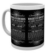 Merchandising SUPERNATURAL - Mug - 300 ml - Family Business