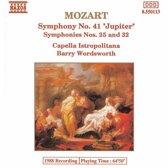 Mozart: Symphonies 25, 32 & 41