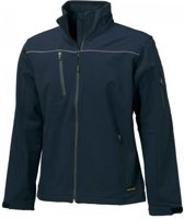 Tricorp soft shell jack - Workwear - 402006 - navy - maat S