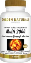 Golden Naturals Multi 2000 (60 tabletten)
