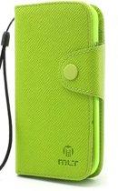 LG Optimus G2 Wallet Stand Hoesje Groen