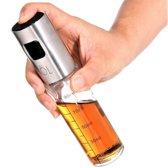 Spray fles - Olies pray - Spray bottle - Lege fles met Verstuiver - Glazen flesje 100 ml - Vloeistofpomp - Plantenspuit - Spuitfles