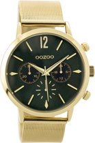 OOZOO Timepieces C9467 Metaal Mesh Monsteragroen 40mm