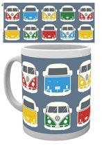 VW Camper Campers Colours Illustration mok