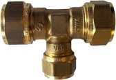 VSH knelkoppeling - T-stuk - 15 x 12 x 15 mm - 1 st