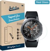 Just in Case Tempered Glass Samsung Galaxy Watch 46mm Protector - Arc Edges