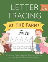 Letter Tracing at the Farm!