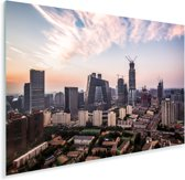 Skyline van Beijing Plexiglas 60x40 cm - Foto print op Glas (Plexiglas wanddecoratie)