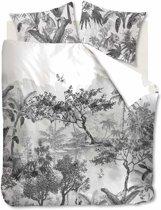 Beddinghouse Brazil - Dekbedovertrek - Katoen - 240x200/220 cm - Zwart Wit