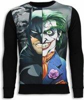 Local Fanatic Bad Joker - Sweater - Zwart - Maten: XXL
