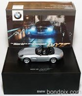 "BMW Z8 ""The World is Not Enough"" James Bond 007 1999 Minicamps 1-43"