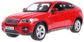 Rastar Bestuurbare auto BMW X6 Rood - Schaal 1/14 - Bestuurbare Auto