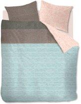 Oilily Pale Blush - Dekbedovertrek - Lits-jumeaux - 240x200/220 cm + 2 kussenslopen 60x70 cm - Licht blauw