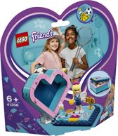 LEGO Friends Stephanie's Hartvormige Doos - 41356