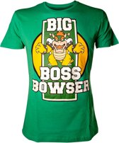 Nintendo - Big Boss Bowser T-Shirt - L (Green)