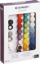 Screwpull Glasmarkeerders set 24 stuks