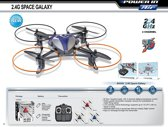 Radiografisch bestuurbare Drone 4 kanaals 2.4 Ghz UFO