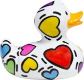 Luxury MINI POP HEART DUCK van Bud Duck: Mooiste Design badeend ter Wereld