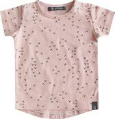Your Wishes Meisjes T-shirt Waves Pink - roze - Maat 74/80