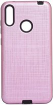 Teleplus Samsung Galaxy M20 Youyou Silicone Case Pink hoesje