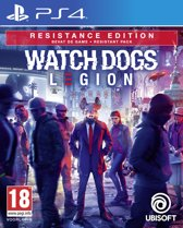 Cover van de game Watch Dogs Legion - Resistance Edition - PS4