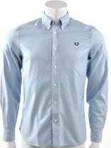 Fred Perry - Classic Twill Shirt - Heren - maat XL