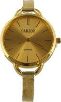 Elegant Horloge - Quartz - Metaal - Kast 40mm - Goudkleurig - Dielay