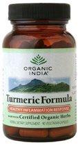 Biologische Turmeric Formula-Kurkuma (90 vega capsules) - Organic India