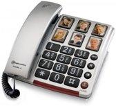 Amplicomms BigTel 40+ - Vaste telefoon - Grijs/Zwart