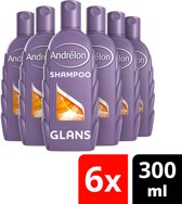 Andrélon Glans Zomer Tarwe Shampoo - 6 x 300 ml - Voordeelverpakking