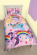 My Little Pony dekbed - eenpersoons - dekbedovertrek
