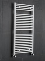 Sanifun handdoekradiator Medina Rondo 1600 x 300 Wit