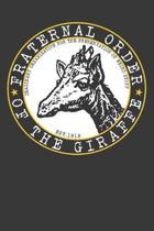 My Giraffe Journal